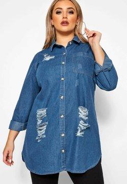 Yours Clothing - Hemdbluse - blue