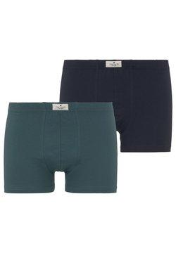 TOM TAILOR - 2 PACK - Shorty - green-medium-solid
