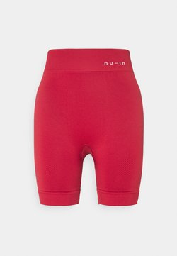 NU-IN - HIGH WAIST COMPRESSION SHORTS - Legging - red