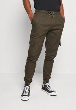 Newport Bay Sailing Club - CARTEL - Cargo trousers - khaki