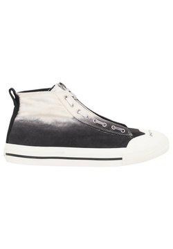 Diesel - Sneakersy wysokie - white/black