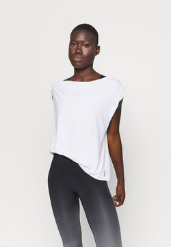 Free People - TURN AROUND TEE - Camiseta básica - white