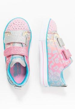 Skechers - SHUFFLE LITE - Sneaker low - pink/multicolor/silver