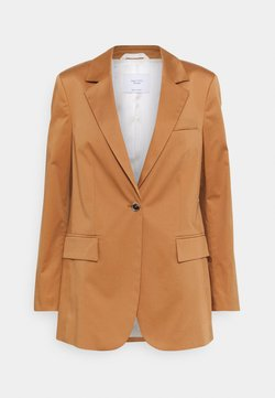 Marc O'Polo PURE - SLITS IN SLEEVES - Blazer - gold amber