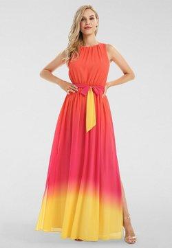 Apart - Maxi-jurk - orangerot-pink-gelb