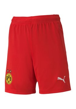 Puma - NATIONAL BVB DORTMUND  - kurze Sporthose - rot