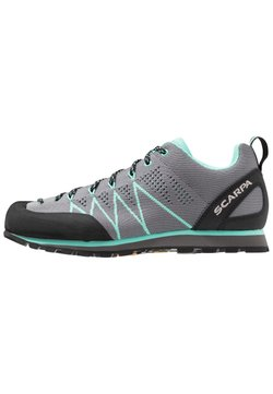 Scarpa - CRUX AIR - Walkingschuh - smoke/ice green