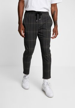 Only & Sons - ONSLINUS CHECK PANT - Kangashousut - almond