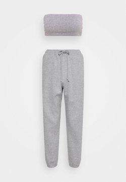 Missguided Petite - BANDEAU JOGGER SET - Jogginghose - grey