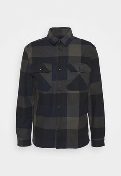 Selected Homme - SLHLOOSEREED CHECK - Hemd - black