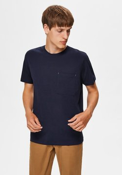 Selected Homme - T-Shirt basic - night sky