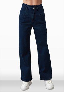 Trendyol - Jeans Bootcut - navy blue