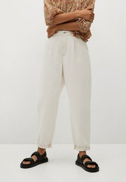 Mango - MICHELLE - Relaxed fit jeans - ecru