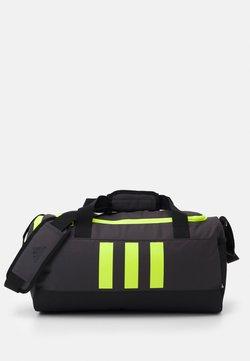 adidas Performance - 3S DUFFLE S - Sporttasche - dgh solid grey/black/solar yellow
