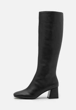 Monki - VEGAN PATTIE BOOT - Kozaki - black