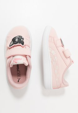Puma - SMASH ANIMALS - Sneaker low - peachskin/vaporous gray