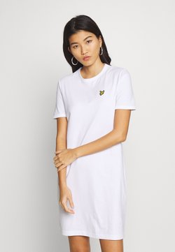 Lyle & Scott - DRESS - Vestido ligero - white