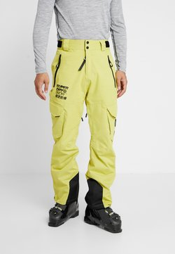 Superdry - ULTIMATE SNOW RESCUE PANT - Snow pants - sulpher yellow