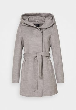 ONLY - ONLCANE COAT - Kurzmantel - light grey melange