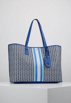 Tory Burch - GEMINI LINK TOTE - Shoppingväska - bondi blue