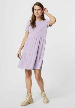 Vero Moda - SHORT SLEEVE - Vestido ligero - pastel lilac