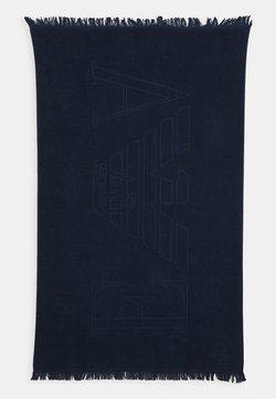 Emporio Armani - TOWEL - Telo da bagno - blu navy