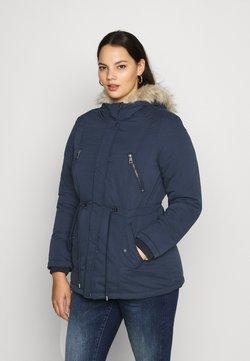 Vero Moda Curve - VMAGNESBEATE - Wintermantel - navy blazer