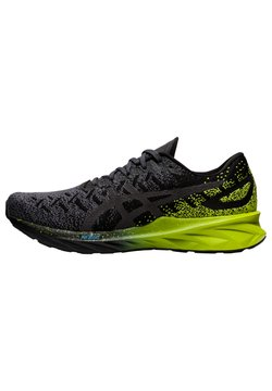 ASICS - DYNABLAST - Sneaker low - black/lime zest