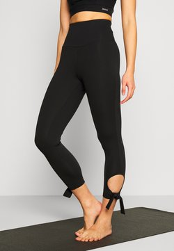 South Beach - CUT OUT LEGGING - Tights - black