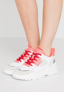 Versace Jeans Couture - Sneakers laag - white/pink