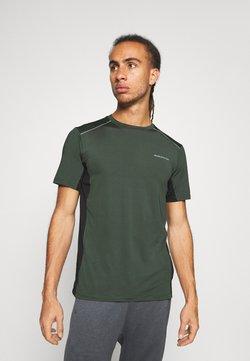 Endurance - SHAMS TEE - T-Shirt print - deep forest