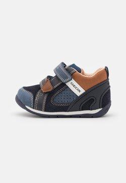 Geox - EACH BOY - Vauvan kengät - navy/light brown