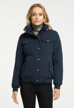 DreiMaster - Płaszcz zimowy - marine