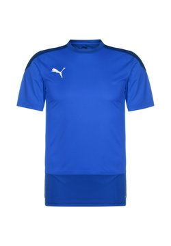 Puma - TEAMGOAL 23 TRAININGSSHIRT HERREN - Printtipaita - electric blue lemonade / team power blue