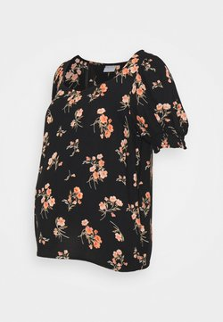 Pieces Maternity - PCMTRINA - T-Shirt print - black