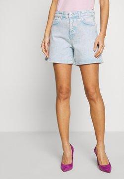 Marc O'Polo - HIGH WAIST MID LENGTH - Shorts di jeans - sky breeze