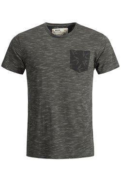 INDICODE JEANS - BLAINE - T-shirt print - anthrazit