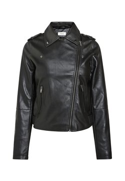 Next - Imitatieleren jas - black