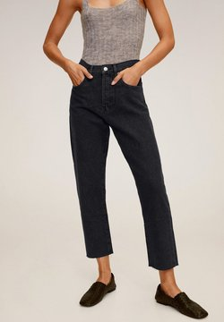 Mango - HAVANA - Straight leg jeans - black denim