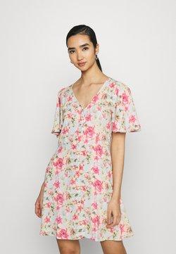 JDY - JDYDAISY DRESS - Sukienka letnia - baby blue/rosebloom