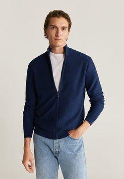 Mango - TENC - Vest - dunkles marineblau