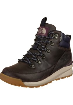 The North Face - BACK TO BERKLEY MID - Schnürstiefelette - root brown/navy