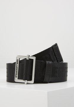 KARL LAGERFELD - LOGO BELT - Gürtel - black
