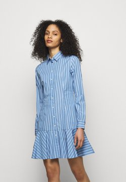 Lauren Ralph Lauren - DRESS - Blusenkleid - blue/white