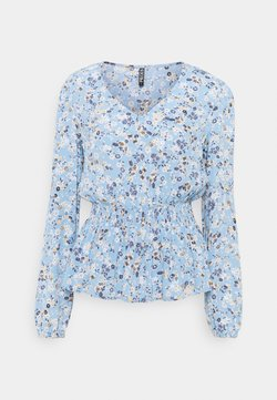 PIECES Tall - PCGERTRUDE - Bluse - little boy blue