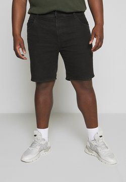 Cotton On - STRAIGHT PLUS - Jeansshort - pitch black