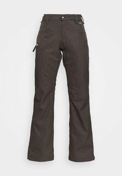 Rojo - SNOW CULTURE PANT - Täckbyxor - black olive