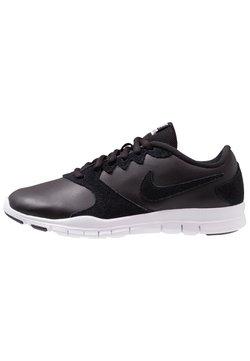 Nike Performance - FLEX ESSENTIAL TR - Zapatillas de entrenamiento - black/white/light crimson