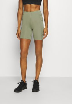 Cotton On Body - SCALLOP HEM BIKE - Trikoot - basil green
