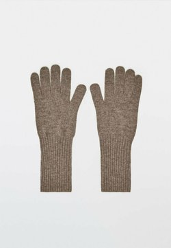 Massimo Dutti - Fingerhandschuh - metallic grey